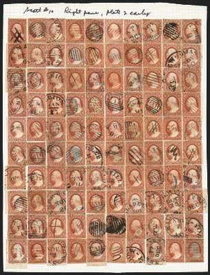 10 reconstruction Scotts - US Postage Stamps