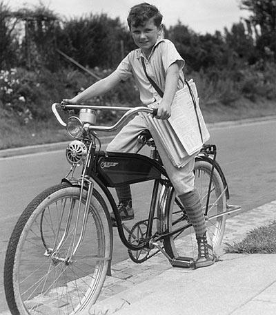 1950 s paperboy