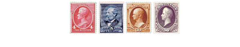1888 US Postage Stamps