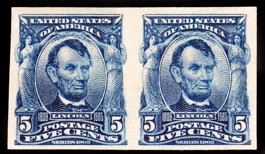 315 US Postage Stamps 1906