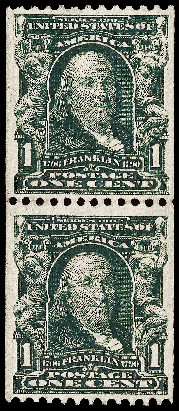 Us Stamps 1908 316