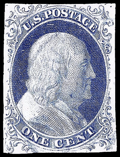 5A US postage Stamps of 1851