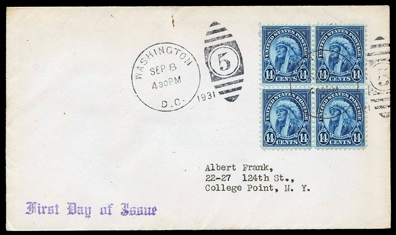 695-fdc Scotts - US Postage Stamps