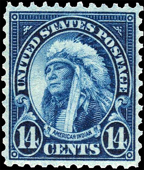 695 Scotts - US Postage Stamps