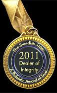 2011 Stamp award