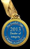 2013 Swedish Tiger Award